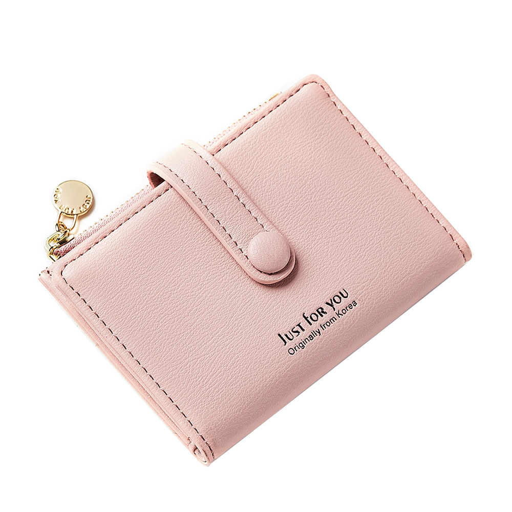 Guangzhou Factory Fashionable Ladies Short <strong>Wallet</strong> Women's <strong>Wallet</strong> With Card Holder