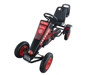 kids outdoor foot control manual go kart for sale