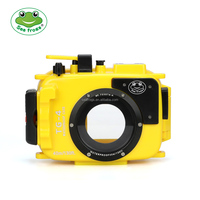 Seafrogs Newest 40M Underwater Diving case Waterproof Camera Housing Case for Olympus TG4