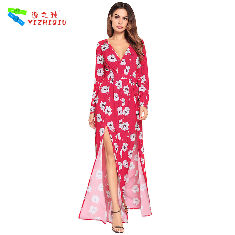 YIZHIQIU elegantes halter ropa mujer vestidos