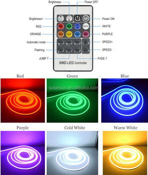 Rgb color changing led neon rope light 5050 smd led dc24v dmx rgb color changing led neon rope light 5050 smd led dc24v dmx control aloadofball Images