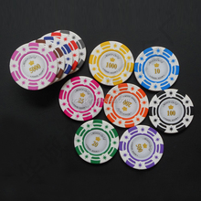 First-class clay poker chips