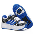 new adult children heelys roller shoes with wheels boy girl invisible button skate heelys zapatillas con