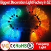 CE ROHS 2m 20led warm white indoor outdoor 4.5V short string christmas lights smart light rgb led string light IP44