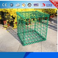 Best price welded wire mesh gabion basket / retaining wall for sale garden gabion