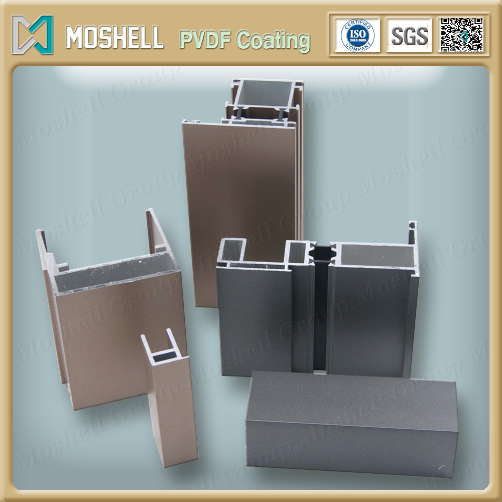 Aluminium Profile for Sliding Door, Customize aluminium profile corner joint