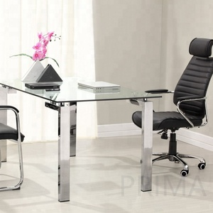 Modern design study glass office desk