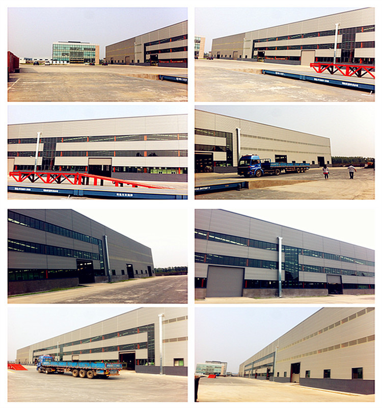Chinese steel structure godown with overhead crane