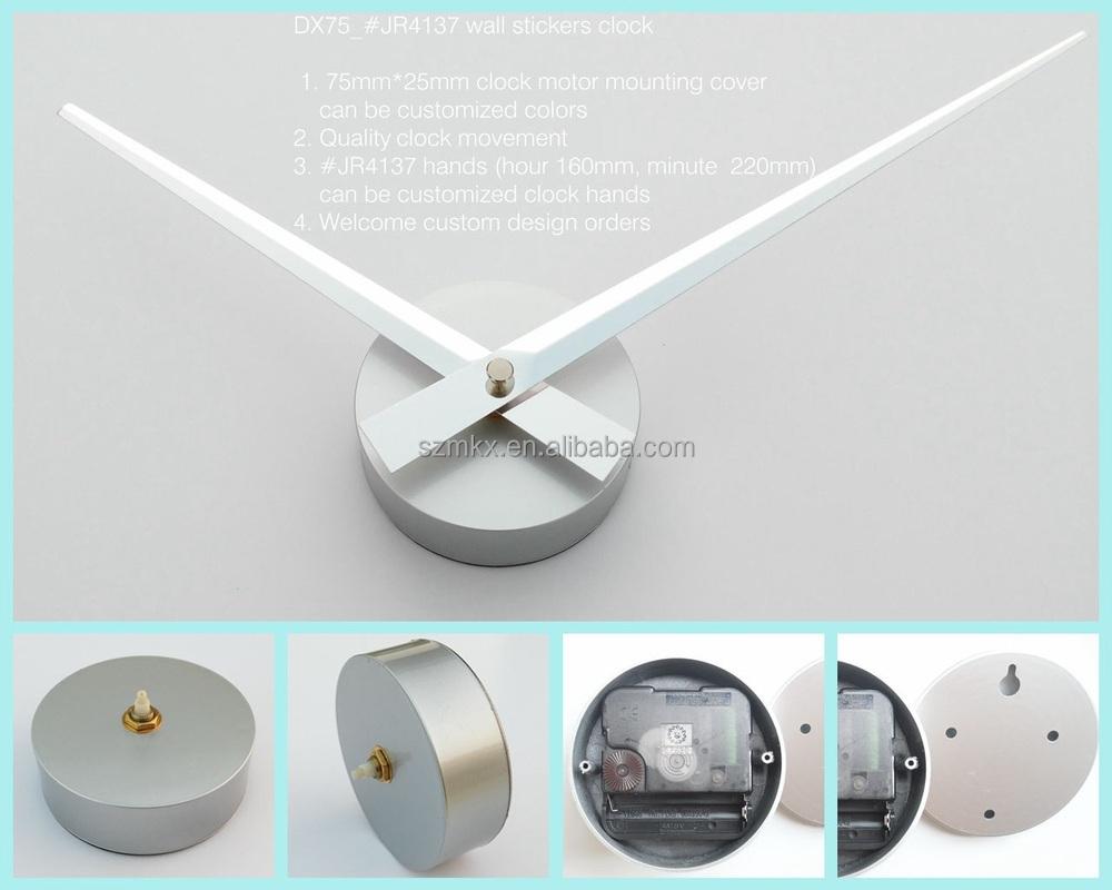 Diy Wall Clock Partswall Decals Clock Partswall Stickers Clock - Wall decals clock