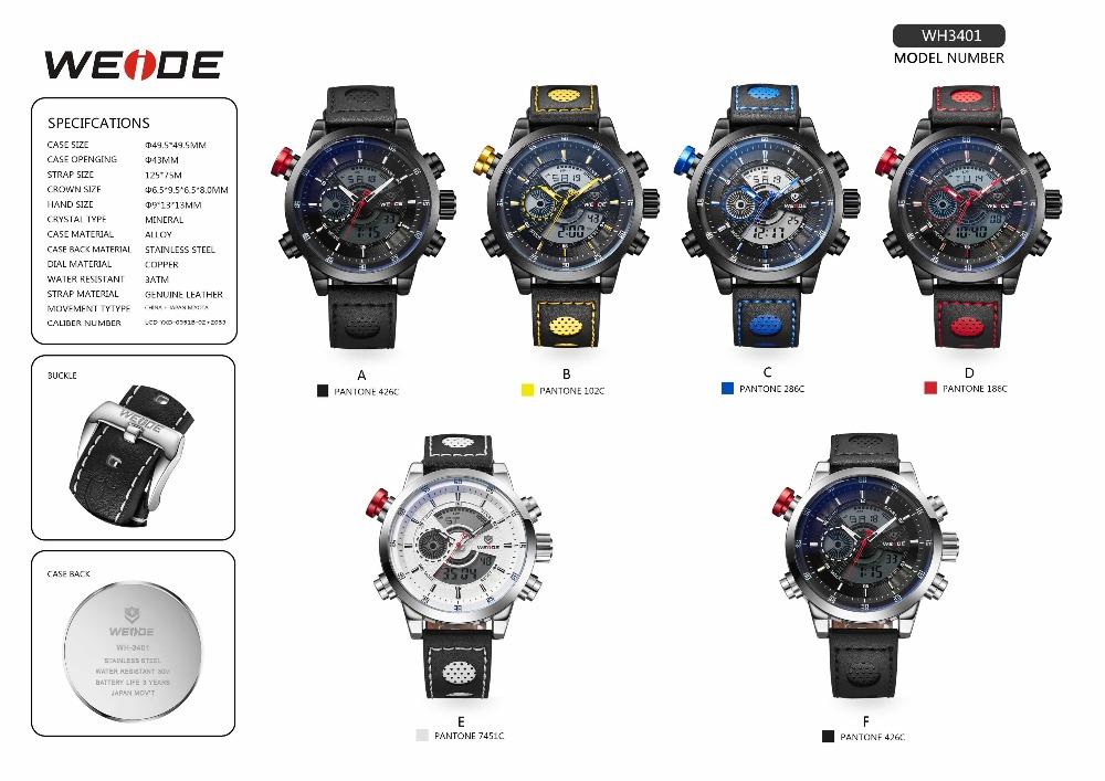 fc0d67e412 Weide Watch Quartz Men Analog Digital Dual Time Japan Movement Relic  Stainless Steel Top 10 Brand Men Watches - Buy Top 10 Brand Men  Watches,Japan ...