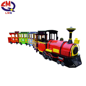 Cheap amusement park rides trackless train rides for children