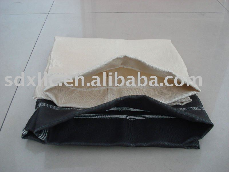 Fiberglass woven fabric with PTFE memberane flat filter cloth (filter bags)