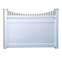 Different type of high quality beautiful cheap pvc privacy fence with pickets