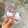 Cartoon Funny Cute Kitty Cat Pattern Clear Case For iphone 7 7 Plus 6 6S Plus Phone Cases Cover