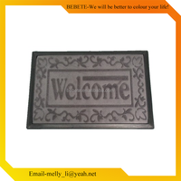 Gold supplier china printed home entrance ma