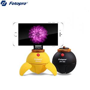 (Random Color) Original Fotopro IPH-03 360° Panorama Shooting Rotate Tripod Platform For Cellphone / . . Specifications: . 1. Brand: Fotopro . . 2. Type: 360degree Panorama Shooting Rotate