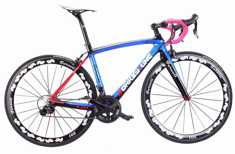 Faraoll Full Carbon road <strong>bike</strong> with Ultrgra 6800 groupset Monkey king painting