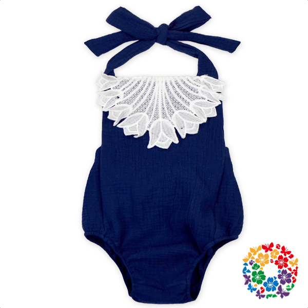 Boutique Summer Baby 8 Clothing Clothes Girl Romper Lace Sleeveless Newborn Baby Clothing