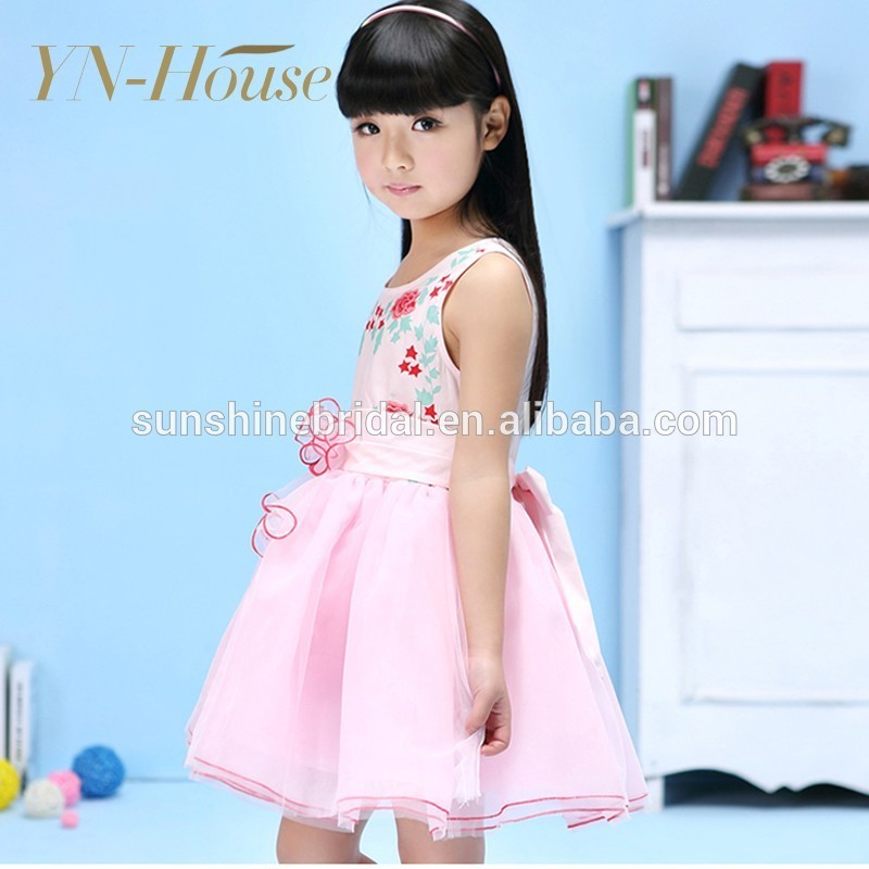High Quality Latest Design Young Girls In Short Dress For Wedding
