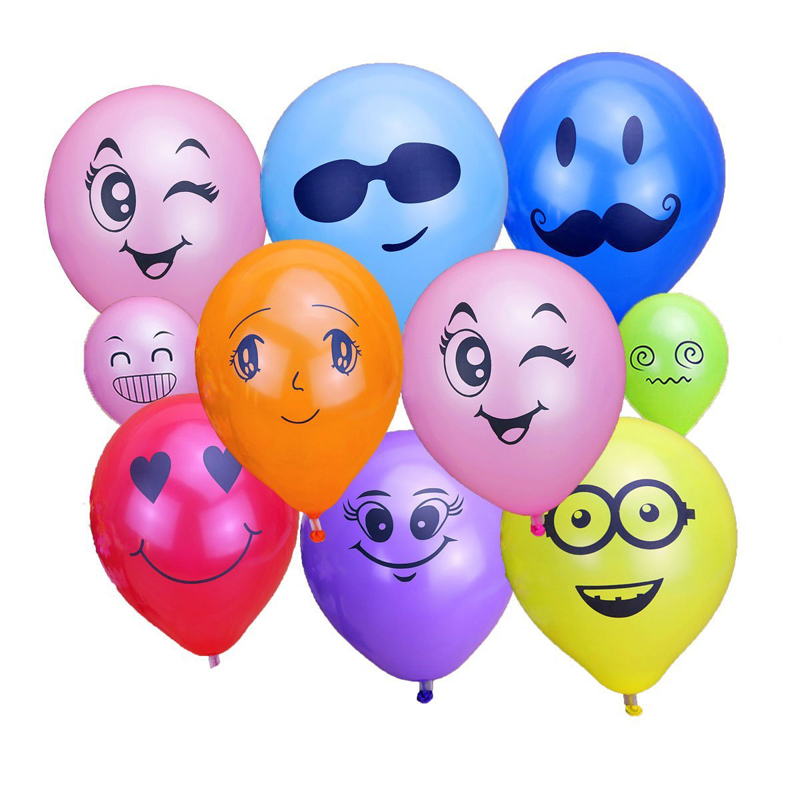 Coolnew Balloons Assorted Color 12 inch 100 Pcs Helium Quality Latex for Party Decoration