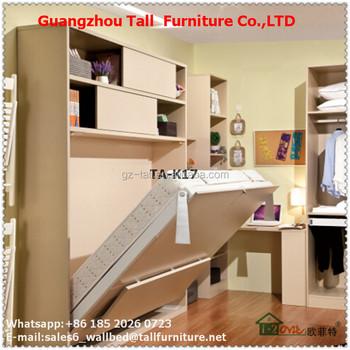 E Saving Wall Bed Furniture Mechanism Turkish Bedroom