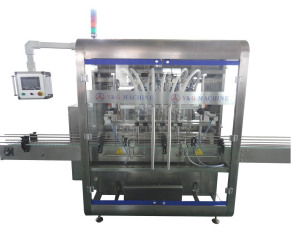 Auto filling and capping machine for essential oil