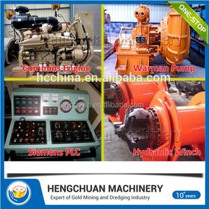Mechanical Cutter Suction Dredge, Mechanical Cutter Suction