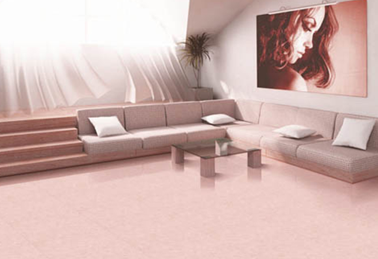 fashion low price double charge super gloss polished tiles price in india hot pink colour glitter ceramic floor tiles