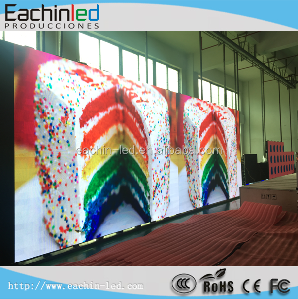High refreshment P3.9 led stage background pantalla led with MBI 5124