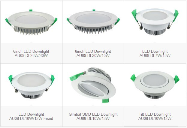 Commercial Led Lighting 8inch 35w,Round 35w Led Down Light ...