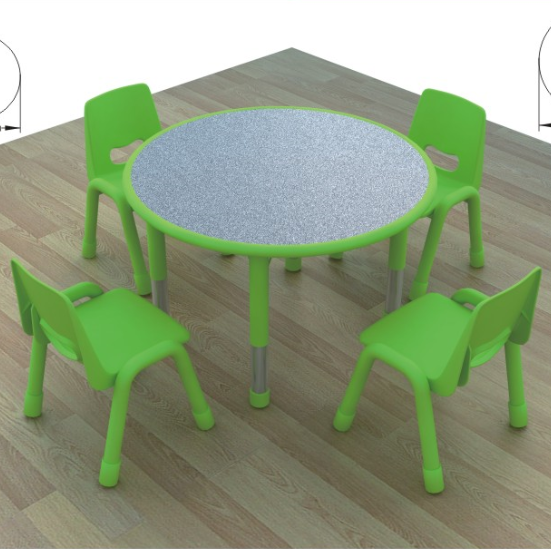 Tavoli E Sedie Per Bambini Usati.Hb 06001 Altezza Regolabile Bambini Tavolo Con Sedie Bambini