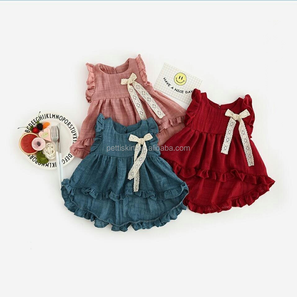d3774c1e2c06 Wholesale Baby Clothes White Lace Baby Frock Baby Flower Girls ...