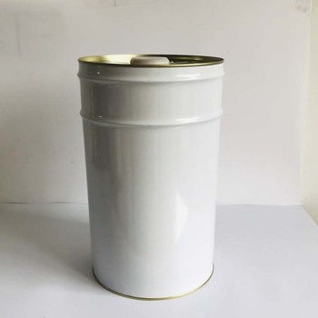 Round tinplate bucket pail 25 Liter Closed Chemical Tin Buckets