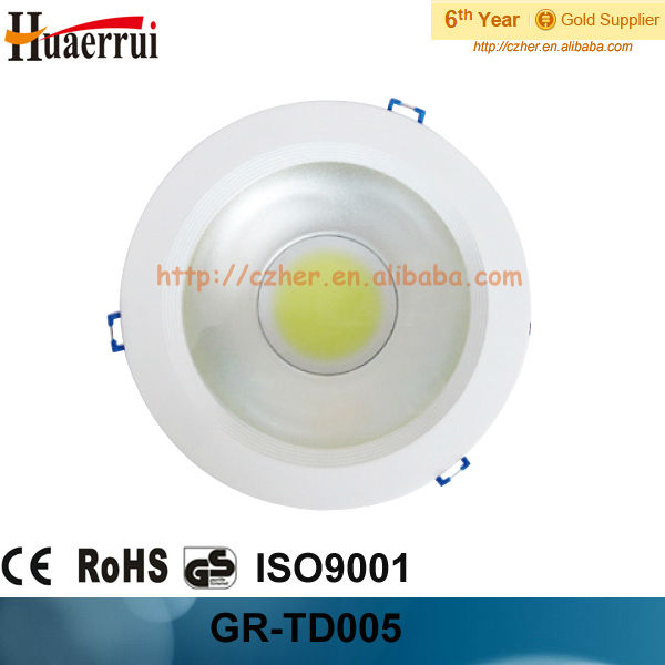 "COB led down light used in Ceiling, 20W 85-265V 50-60HZ 6"" 195MM"