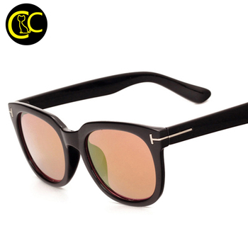 2016 New Luxury TF Sunglasses Women Brand Designer Vintage Retro Fashion Round Sunglass Men Retro Sun Glasses CC0546