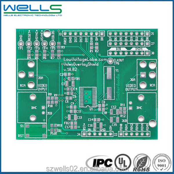 Ips class 2 fr4 pcb board for electronics from alibaba China