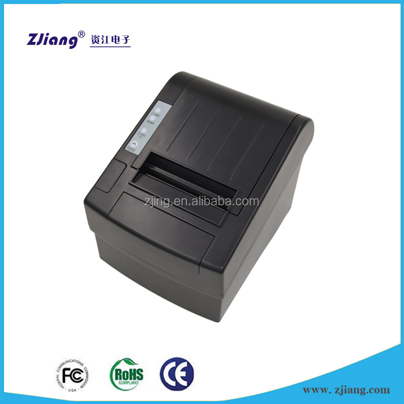 80mm thermal pos receipt printer with cutter--ZJ-8220