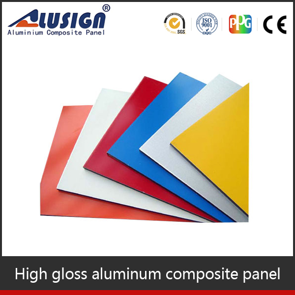 Alusign exterior wall panel Aluminum expanded metal facade/Outdoor expanded metal mesh facade cladding