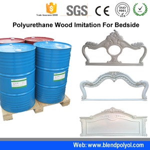 polyether polyol price for mirror frame / pu rigid foam For Polyurethane  Imitation Wood