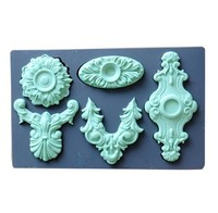DIY Cake decoration tool High quality frame Cake decoration fondant silicone mould