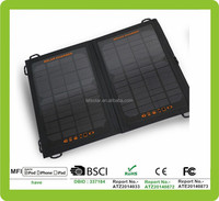2014 new 40 watt solar panel kits for iPhone and iPad directly under the sunshine