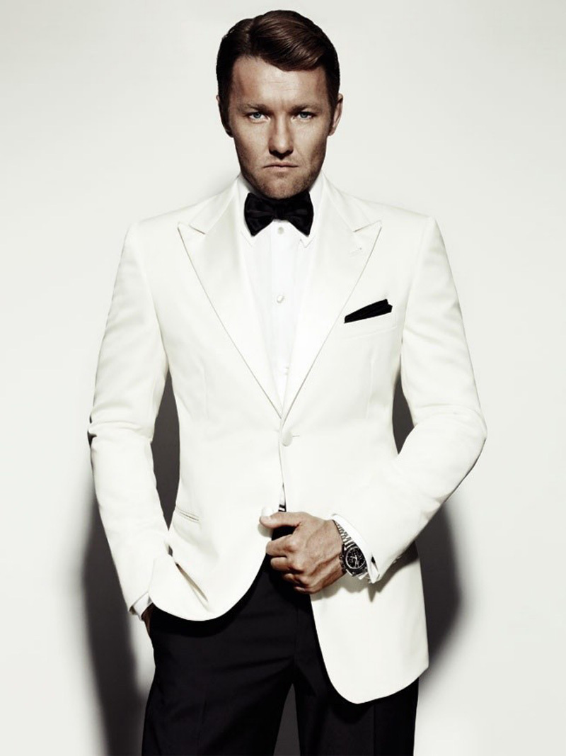 Cheap White Suit Jacket With Black Lapels, find White Suit Jacket ...
