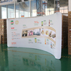 wall fabric curve Trade Show Displays,pop-ups,exhibits, and banner stands