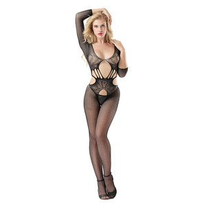 Wholesale hot sexy fashion open transparent lingerie set extreme lingerie