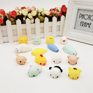 Creative Gift Cute Little Animal Toy Ball Slow Rising Squishy Squeeze Toys Mochi Squishy Factory Wholesale