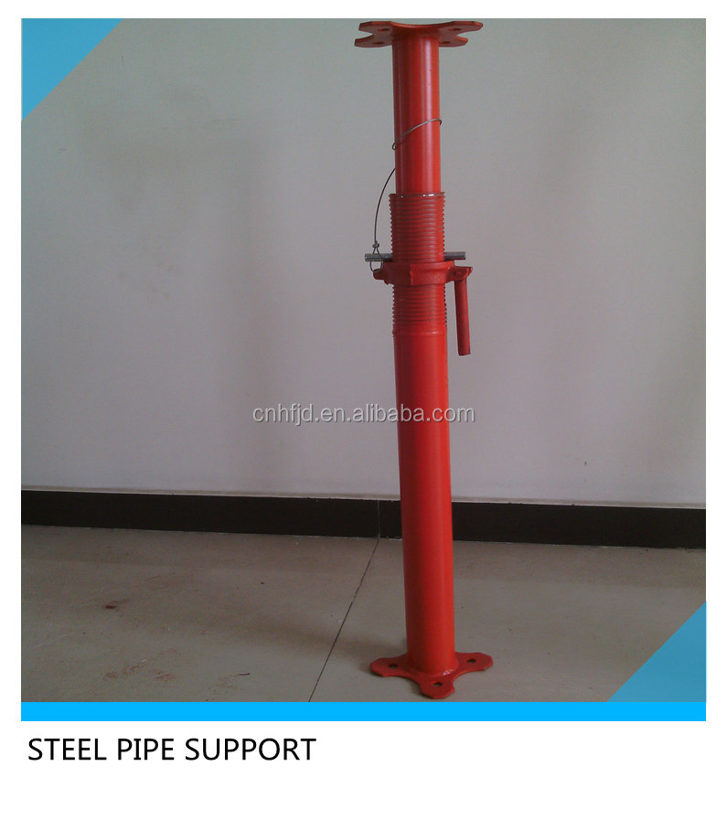 u-head adjustable steel pipe support scaffolding props jacks shoring