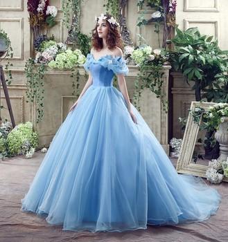 Princesse Robe De Bal Épaules Dénudées Cendrillon