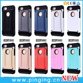 Hot Selling Product Mobile Cover Rugged Impact Shockproof Shell Cover Case For iPhone 7