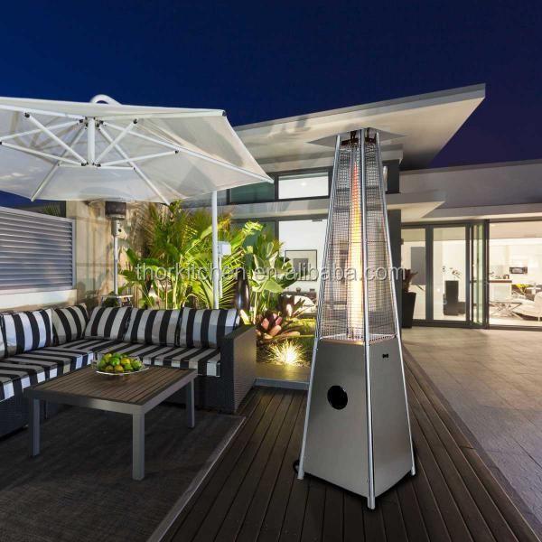 Tall Outdoor Patio Heater   Propane LP Gas Infrared Garden Commercial  Restaurant