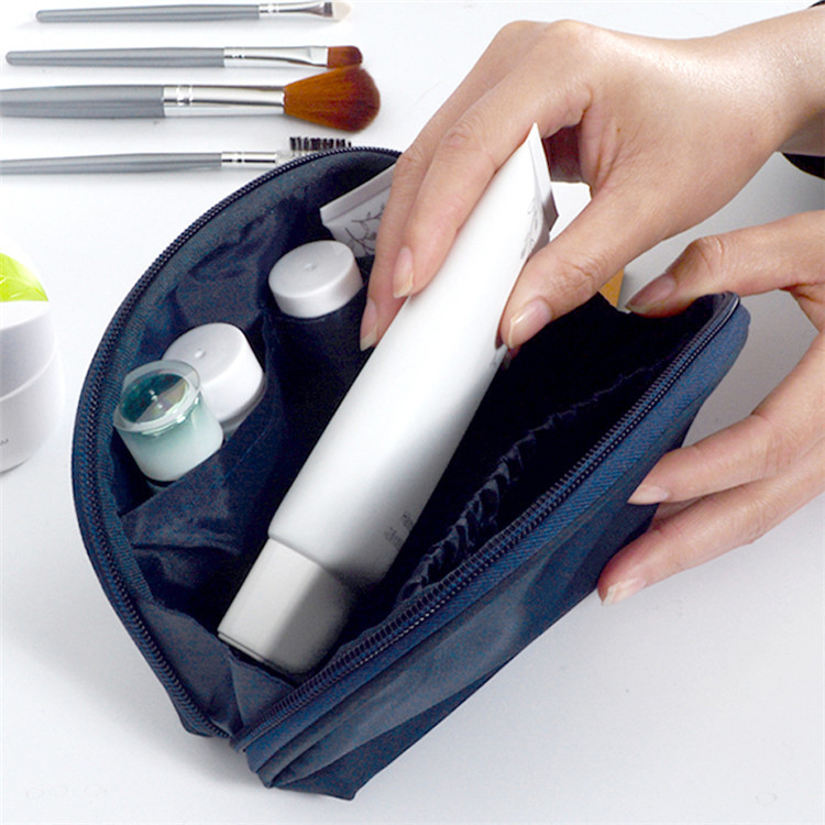Nylon hand cosmetic bag coin wallet waterproof mini storge bag wholesale coin purses with coin slot